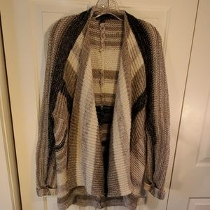 i Jeans By Buffalo Open Front Cardigan Size XL